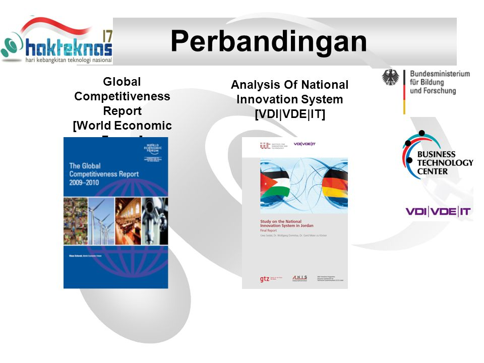 Perbandingan Global Competitiveness Report [World Economic Forum]
